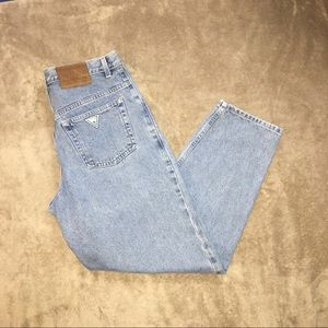Vintage 1990s Guess Jeans High Waisted Mom Jeans